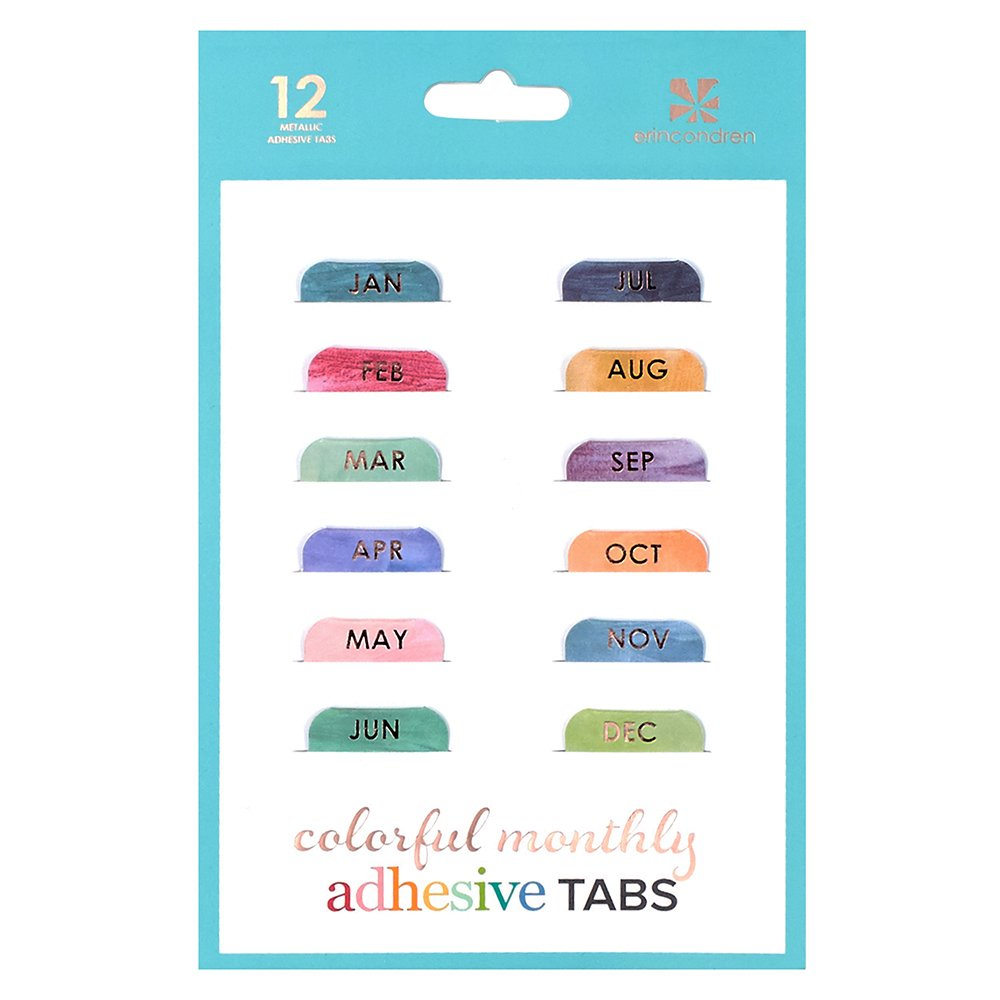best month tabs for planner amazon com