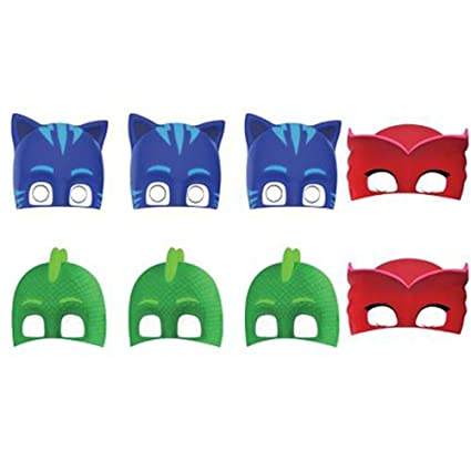 PJ Masks Paper Masks (8ct)