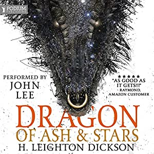 Dragon of Ash & Stars Audiobook