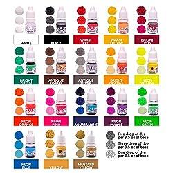Soap Dye for Soap Making supplies - 36 Colors - Ba