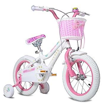 MAZHONG Bicicletas Carrito de bebé para Bicicleta para Niños 12/14/16/18 Pulgadas Selección de Varios Colores para Bicicleta de Montaña y Bicicleta en ...