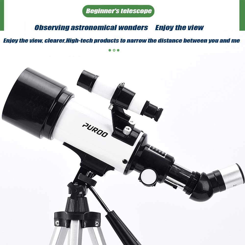 Astronomical Telescope 120X Magnification Optical HD Reflective Telescope, Easy to Assemble and disassemble roof Telescope, Multi-Function Portable high-Power Outdoor Hiking Travel monocular by outdoor equipment (Image #5)