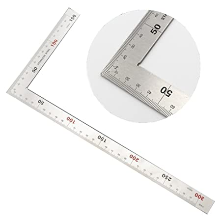 150mmX300MM Stainless Steel Framing Square Right Angle Ruler L ...