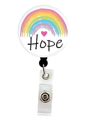 Rainbow Badge Holder