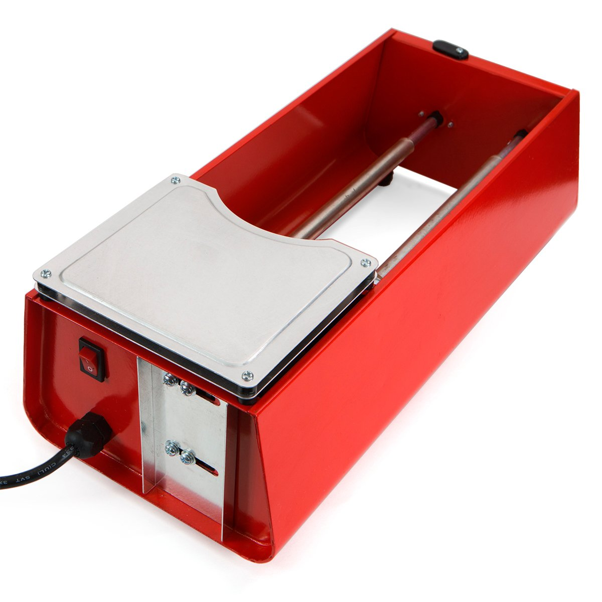 XtremepowerUS Dual Drum Rotary Jewelry Rock Tumbler Polisher for Stone Metal Jewelry 6LBS by XtremepowerUS (Image #2)