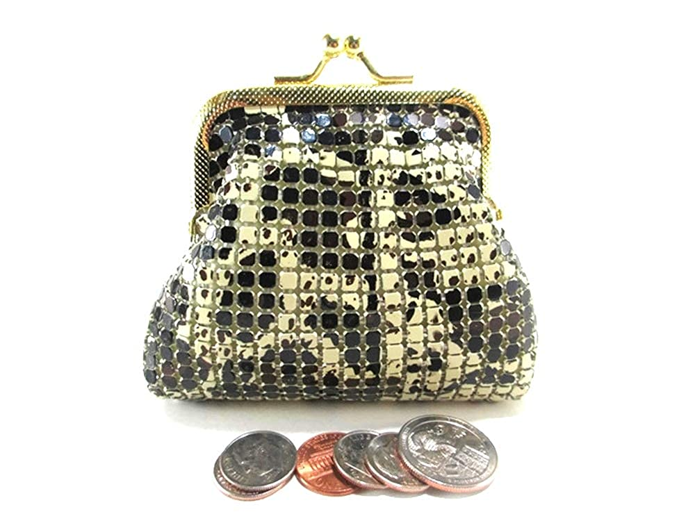 Women Metal Mesh Coin Purse