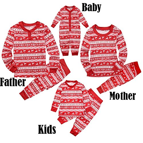 Ant-Kinds Dad Mom Kids Baby Family Matching Xmas