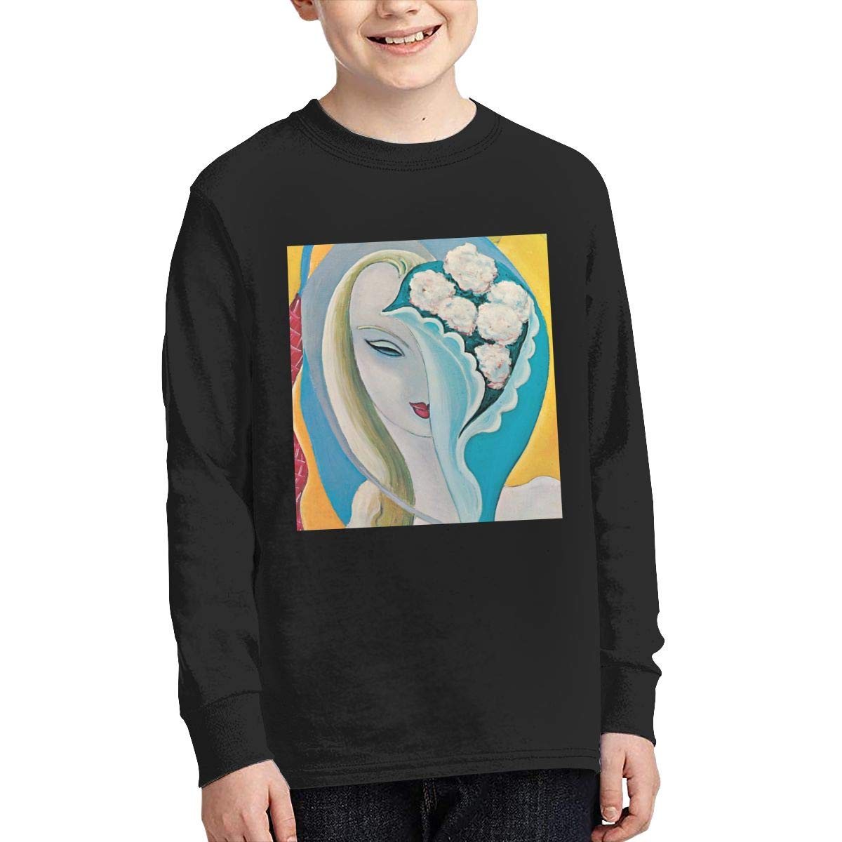 MichaelHazzard Derek /& The Dominos Youth Comfortable Long Sleeve Crewneck Tee T-Shirt for Boys and Girls