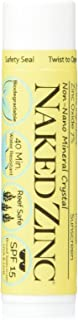 product image for The Naked Bee Zinc Broad Spectrum Spf 15 Lip Balm, 0.15 Ounce