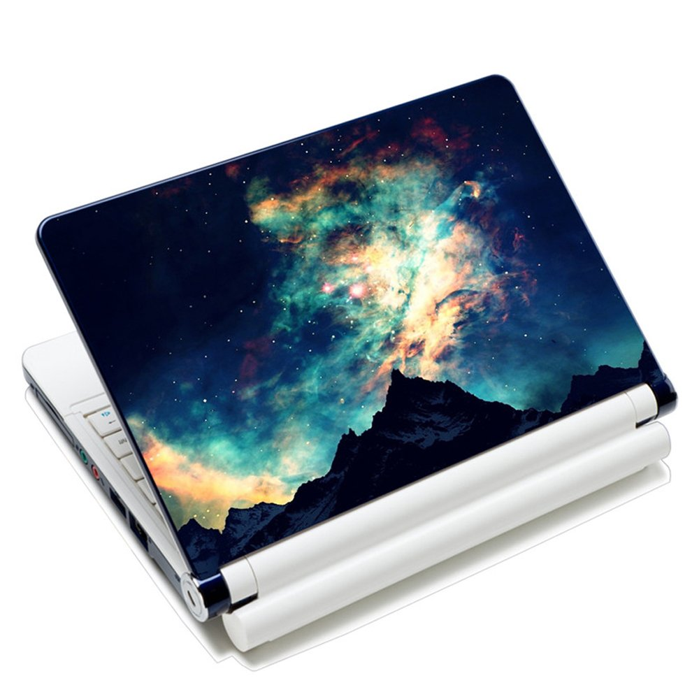 15.6 inch Laptop Notebook Skin Sticker Cover Art Decal Fits 13.3 14 15.4 15.6 HP Dell Lenovo Apple Mac Asus Acer Free 2 Wrist Pad Included Van Gogh Flower