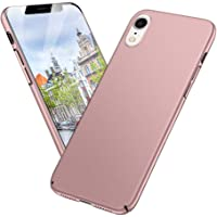 Meidom iPhone XR Case,Full Protective Anti Scratch and Ultra Thin Matte Cover Case for iPhone XR-Rose Gold