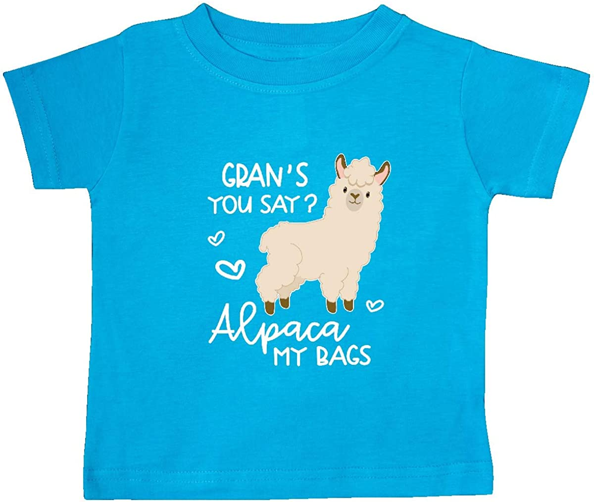 inktastic Grans You Say Alpaca My Bags Baby T-Shirt