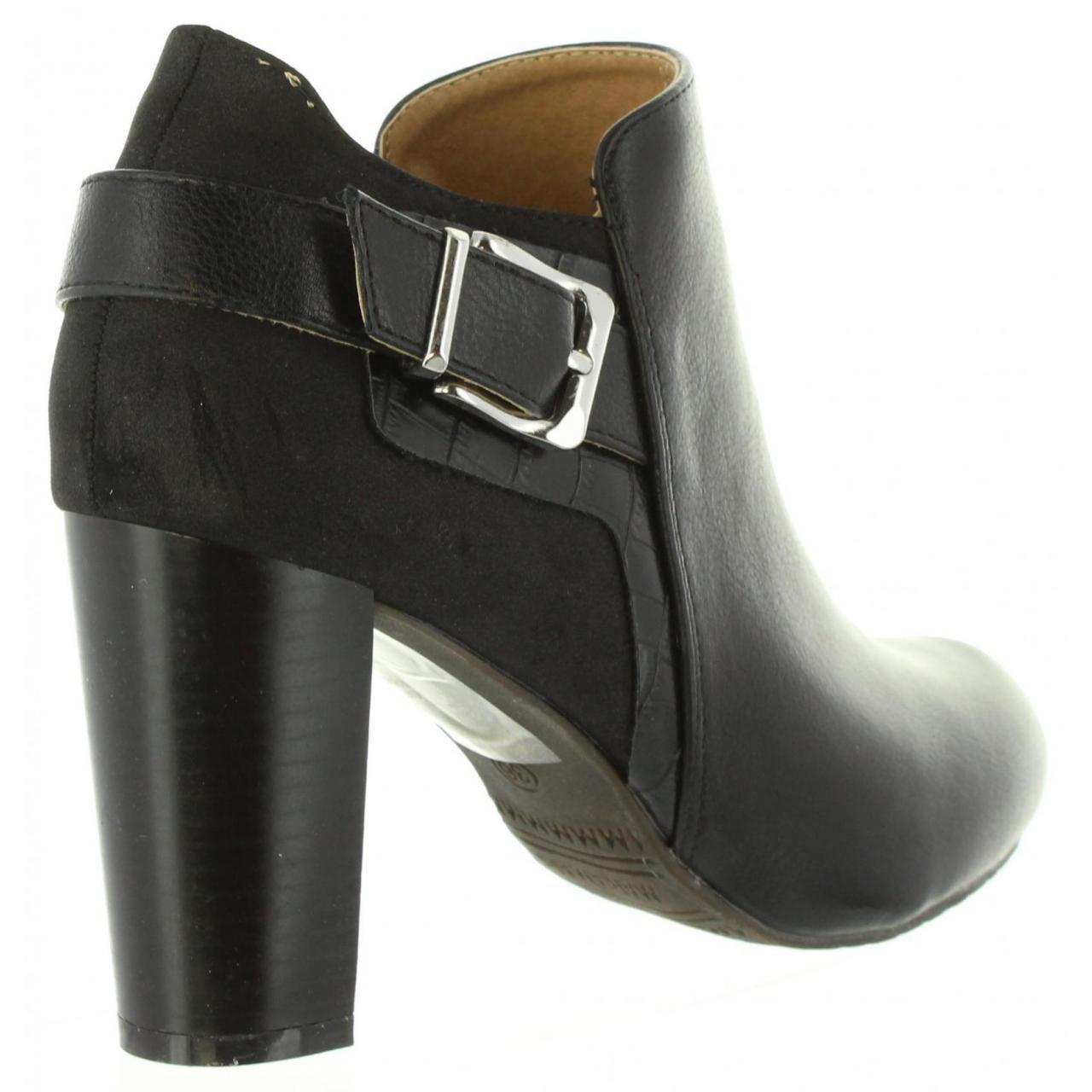 MARIA MARE Botines de Mujer 61325 C8292 COMBI NEGRO Talla 37: Amazon.es: Zapatos y complementos