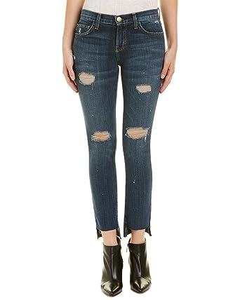 Current/elliott Woman Printed Skinny-leg Jeans Dark Denim Size 26 Current Elliott Clearance Wholesale Price Cheap Low Cost t44QGGRrJ