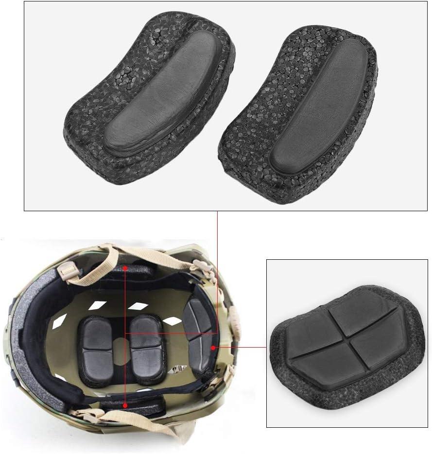 Delaman Almohadillas para Casco 13Pcs//Lot Airsoft Paintball Reemplazo R/ápido del Casco DIY Cushion Protector EPP Esponja Pad Set