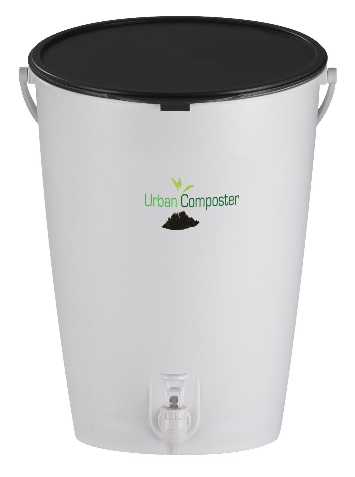 Exaco UClarge-B Urban Composter, 4 Gal, Black