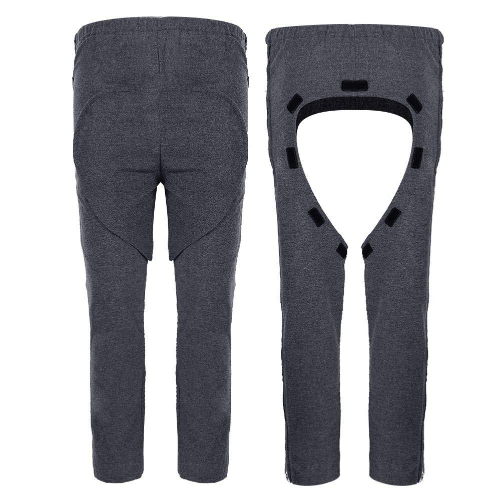 Los pantalones de incontinencia XXXL los pantalones de cat/éter con entrepierna desmontable pueden mejorar la eficiencia de las incontinencias de cuidado o las personas mayores y prevenir la escena