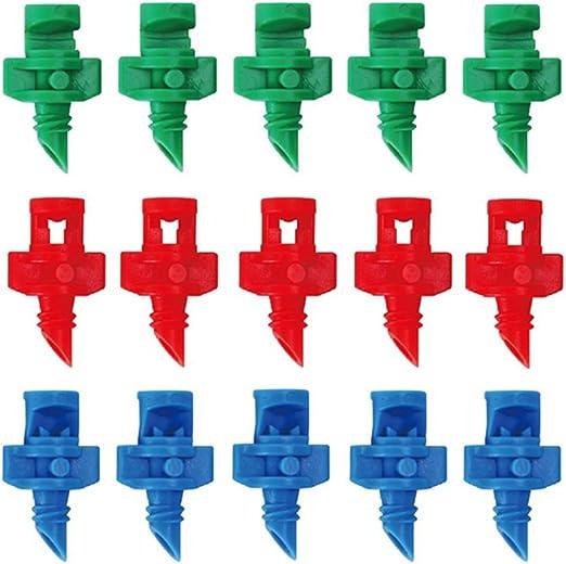 50Pcs Micro Garden Lawn Water Spray Misting Nozzle Sprinkler Irrigation System