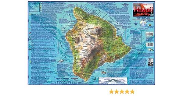 Kohala Coast Hawaii Map.Franko S Guide Map Of Hawaii The Big Island Frank Nielsen