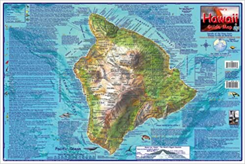 Franko\'s Guide Map of Hawaii, the Big Island: Frank Nielsen ...