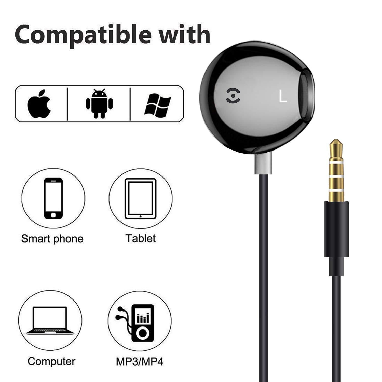 Sony MP3 PC Compatible con iPhone Samsung Galaxy Nokia Huawei LG YRKJ- Auriculares in-Ear con micr/ófono y Mando a Distancia