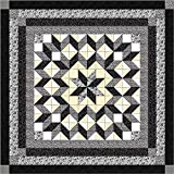 Easy Quilt Galaxy Star Black and White Nuetrals/QN?Exped Ship