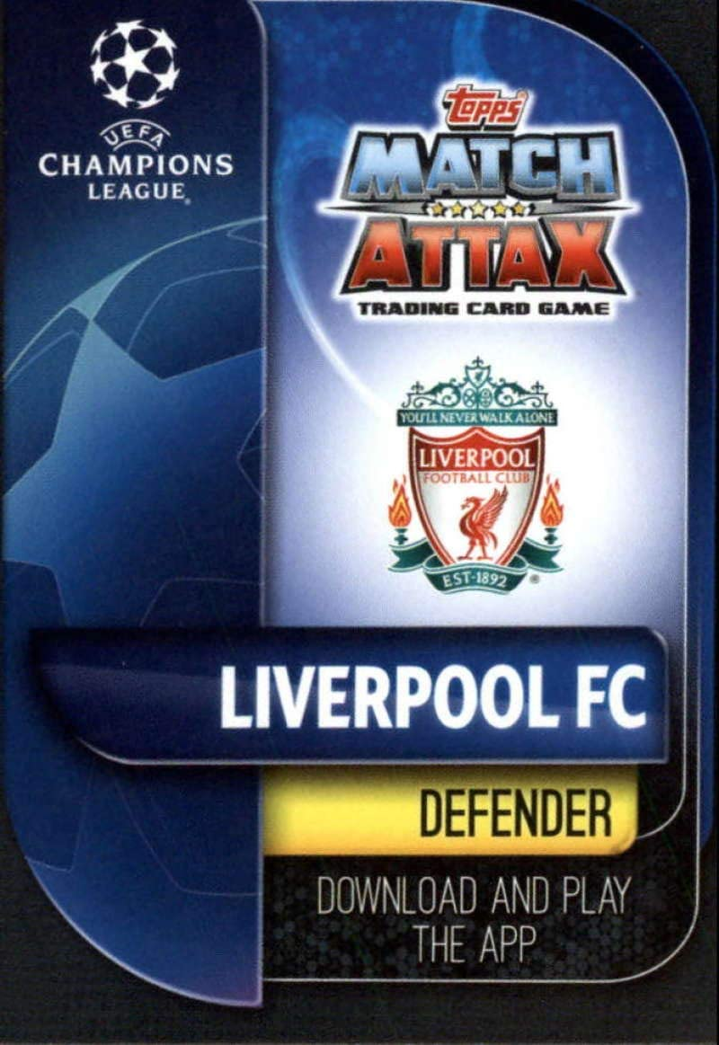 2019-20 Topps UEFA Champions League Match Attax #LIV 5 Trent Alexander//Arnold LIVERPOOL FC Official Futbol Soccer Trading Card Game Playing Card