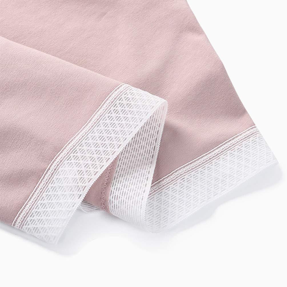 FEOYA Womens Maternity Underwear Cotton Under The Bump Pregnancy Panties Plus Size Postpartum Mother Briefs 4 Pack