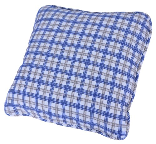 Ellis Curtain Bristol Collection Two-Tone Plaid Toss Pillow, (Plaid Toss Pillow)