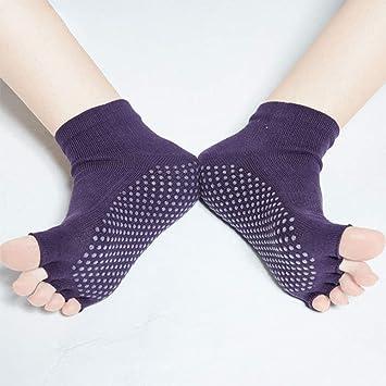 ZHHWYP Calcetín De Yoga con Calcetines, para Yoga, Fitness ...