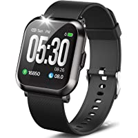 """DoSmarter Fitness Watch, 1.3"""" Touch Screen Smartwatch with Heart Rate Blood Pressure Monitor, Waterproof Fitness Tracker…"""