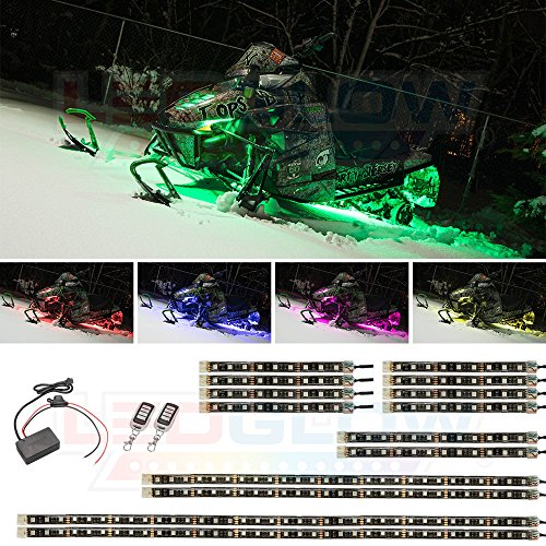 Pink Led Lights For Snowmobile in US - 3