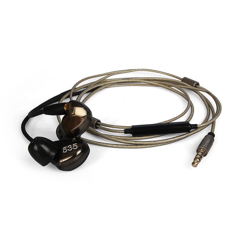 OKCSC Earphones Cable MMCX Jack Detachable Silver Plated Replacement Headphones Cable Audio Adaoter for SHURE Headphones SE215 SE315 SE425 SE535 UE900 with mic