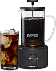 Presto 02937 Dorothy™ Electric Rapid Cold Brew Coffee Maker