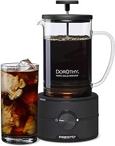 Presto 02937 Dorothy™ Electric Rapid Cold Brew Coffee Maker