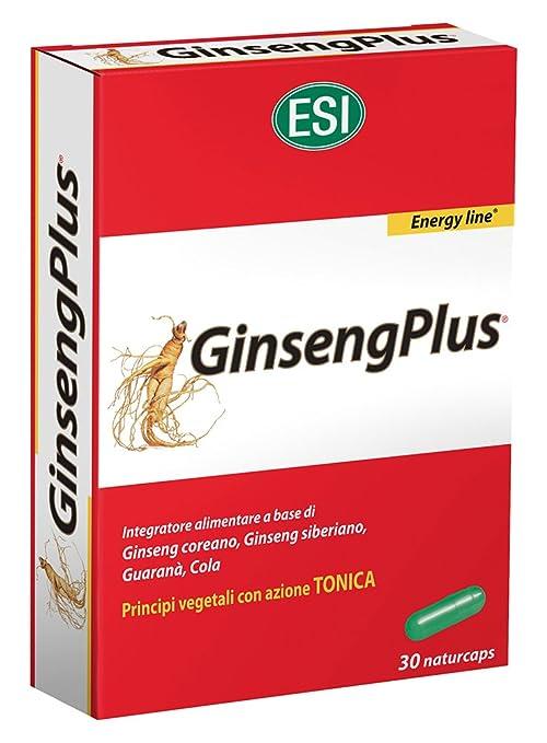 Ginseng Plus 30Cps 15,9G Esi