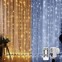 LE Cortina de Luces LED, 3*3m 300 LED