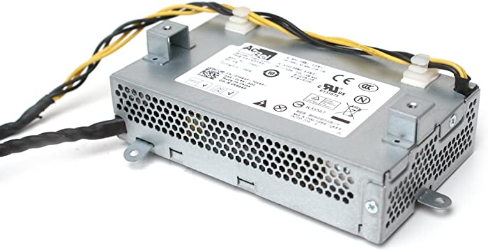 Genuine Dell Y664P For Dell Inspiron One 130 Watt Switching Power Supply, Also For Dell Studio 1909, Compatible Part Numbers: H109R, 0T9002, CPB09-007A, HP-D1301E001LF