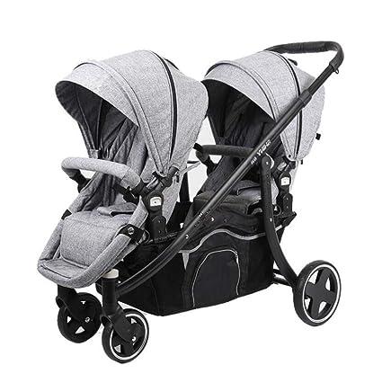 Cochecitos de bebé gemelos - Plegables ligeros Puede ...