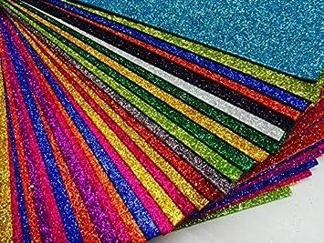 KoolkidsPlus Hojas A4 de gomaespuma, Juego de Seis, Colores a Elegir: Amazon.es: Hogar