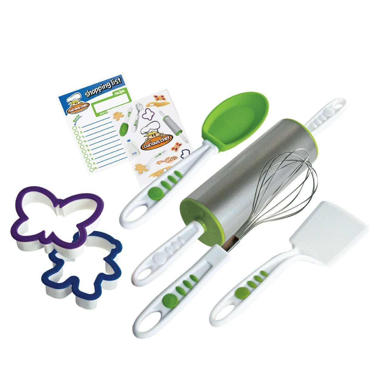 Curious Chef 6-Piece Cookie Kit TCC50106