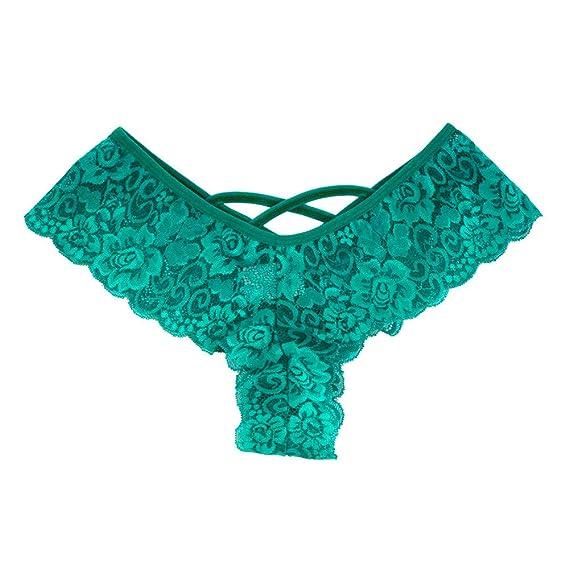 42c136efb5542 Lialbert Sexy 6PC Women Lace Flowers Low Waist Underwear Panties G-String  Lingerie Thongs  Amazon.co.uk  Clothing