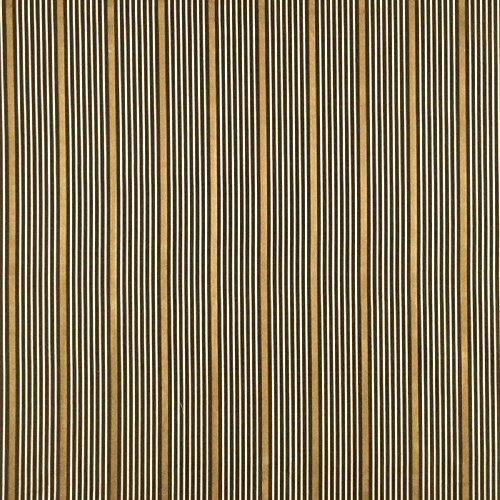 Fabric Robert Allen Beacon Hill Kelly Stripe Umber 100% Silk Stripe Drapery JJ34 - Robert Allen Drapery Fabric