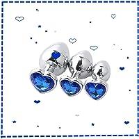 Principiante 3 piezas de joyería de diamantes de acero inoxidable de súper alta calidad para hombres y mujeres.
