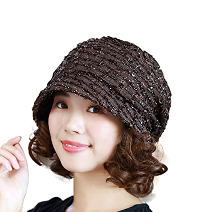 b16dc384d Cap, Beret Fashion Wild Baotou Hat Female Autumn and Winter Elegant ...
