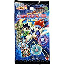Beyblades JAPANESE 2010 Metal Fusion Beyblade Neo Series Energy Ring Sticker Pack 10 Stickers