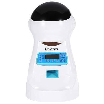 Lieja Comedero automático para Mascotas, dispensador automático de ...