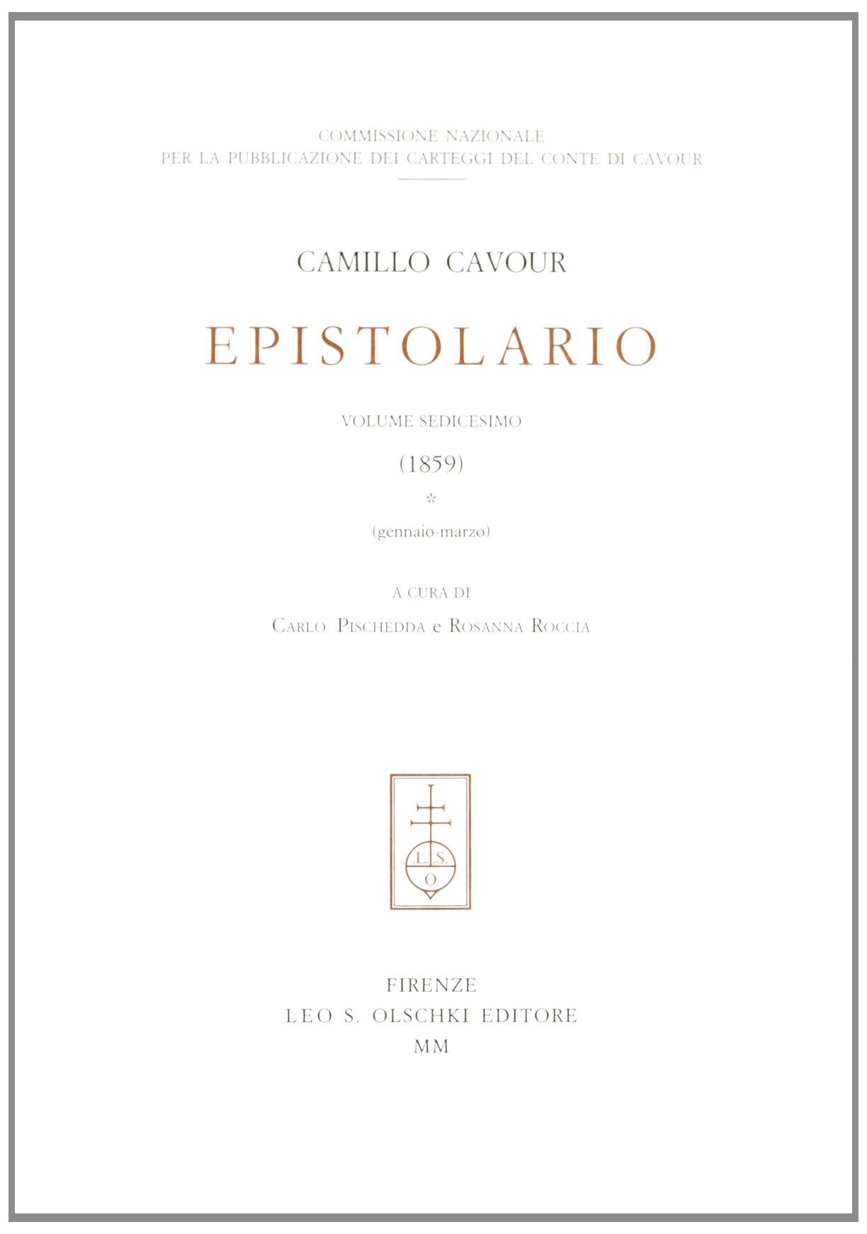 Download Epistolario (XVI (1859)) PDF