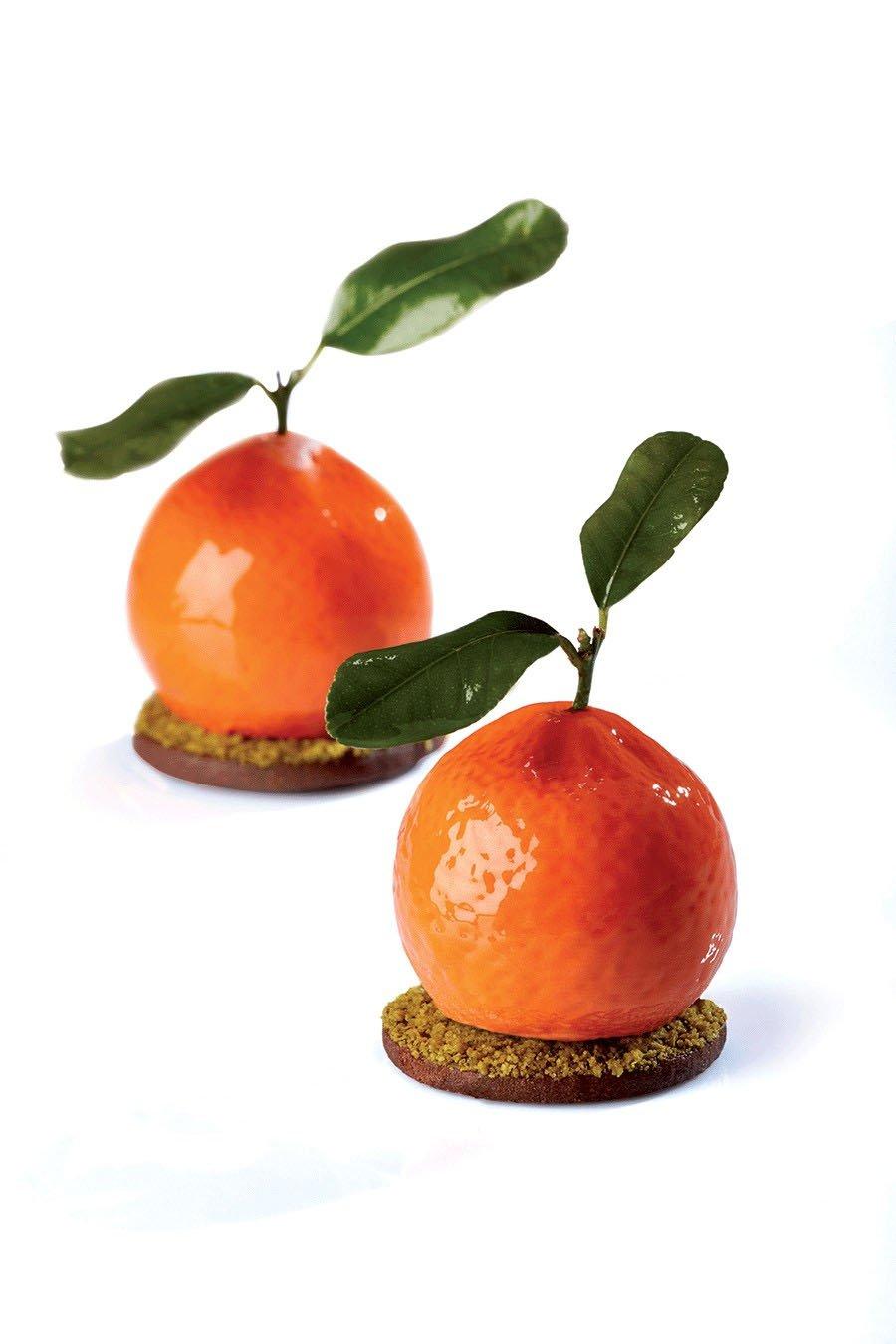 Pavoni Tutti Frutti Silicone Baking Mold Freezing Mould,Tangerine