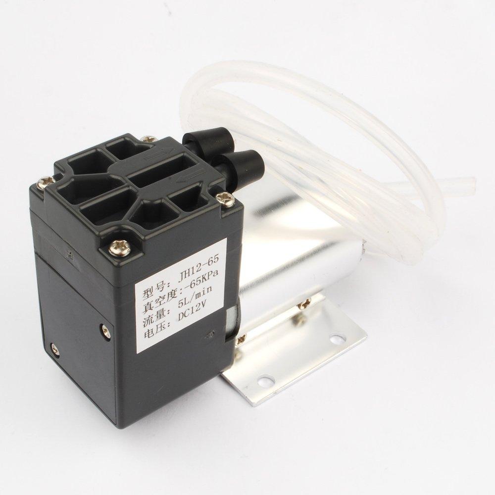 DOWONSOL DC12V 120kpa 5L/min 6W Mini Vacuum Pump Negative Pressure Pump Suction Pump +1M Silica gel tube